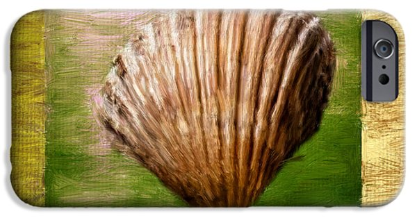 Coastal Decor Digital iPhone Cases - Verde Beach iPhone Case by Lourry Legarde