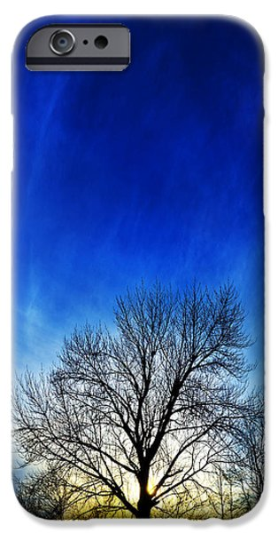 Downeast iPhone Cases - Vernal Sunset 1 iPhone Case by Bill Caldwell -        ABeautifulSky Photography