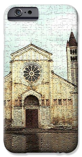 Basilica iPhone Cases - Verona 1 iPhone Case by Rebecca Cozart