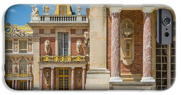 Wealth iPhone Cases - Versailles Splendor iPhone Case by Inge Johnsson