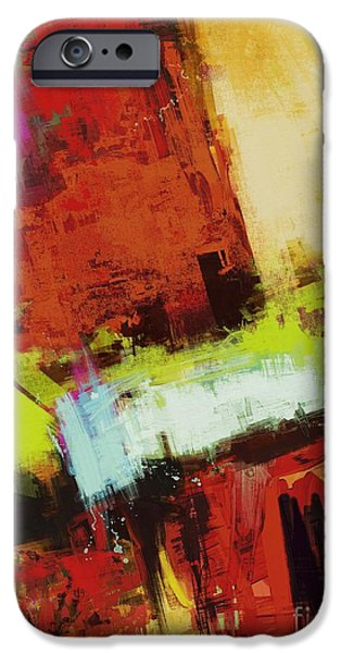 Loose Style Digital iPhone Cases - Vertical climb iPhone Case by Keith Mills