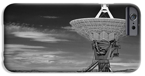 Electronic iPhone Cases - Very Large Array Radio Telescopes iPhone Case by Christine Till