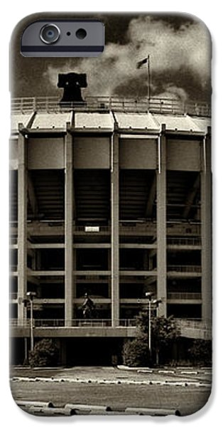 Veterans Stadium 1 iPhone Case by JACK PAOLINI