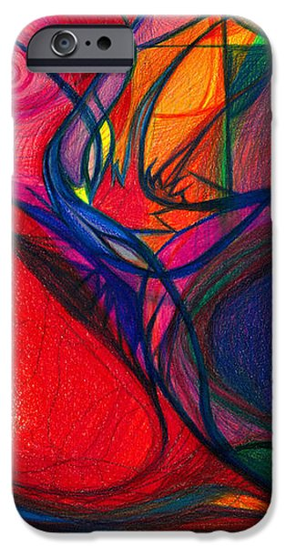 Vibrational Heart Healing - Sounds of Radiant Joy ' Purity of Heart ' Soul ' Mind and Body Aligned iPhone Case by Daina White