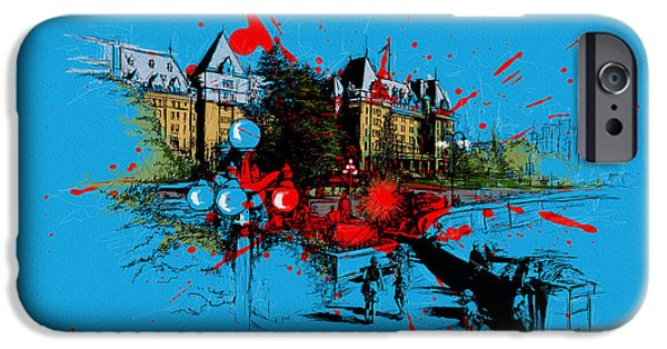 Iphone Art iPhone Cases - Victoria Art 003 iPhone Case by Catf