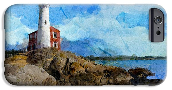 Bc Coast iPhone Cases - Victoria Scenery 1 iPhone Case by Mahnoor Shah