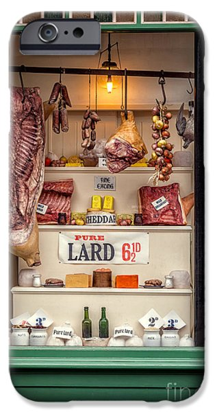 Joints iPhone Cases - Victorian Butchers iPhone Case by Adrian Evans