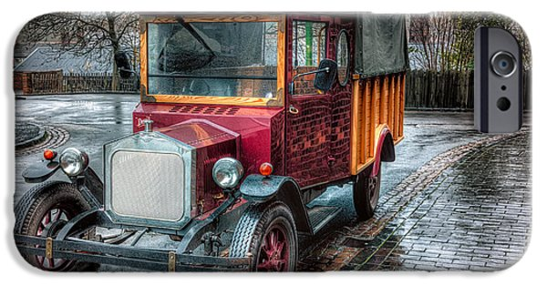 Brick iPhone Cases - Victorian Car Replica  iPhone Case by Adrian Evans