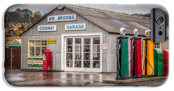 Conway iPhone Cases - Victorian Garage iPhone Case by Adrian Evans
