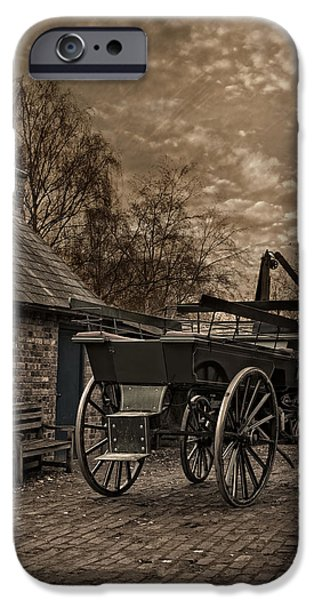 Atmospheric iPhone Cases - Victorian Horse Cart iPhone Case by Amanda And Christopher Elwell
