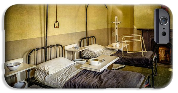 Medical Equipment iPhone Cases - Victorian Hospital Ward iPhone Case by Adrian Evans