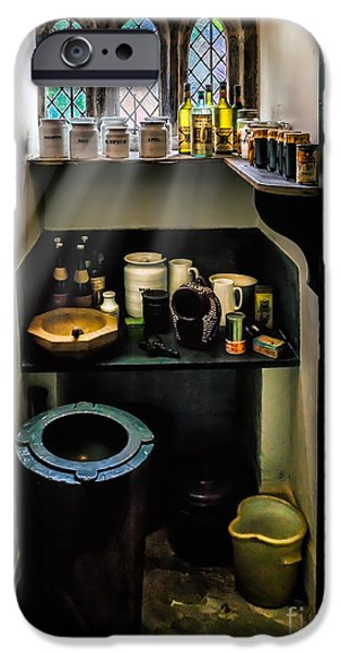 Victorian Pantry iPhone Case by Adrian Evans