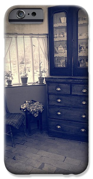 Furniture iPhone Cases - Victorian Room iPhone Case by Amanda And Christopher Elwell