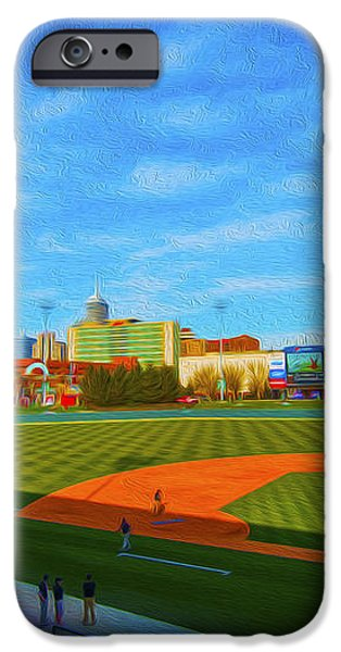 Victory Field 1 iPhone Case by David Haskett