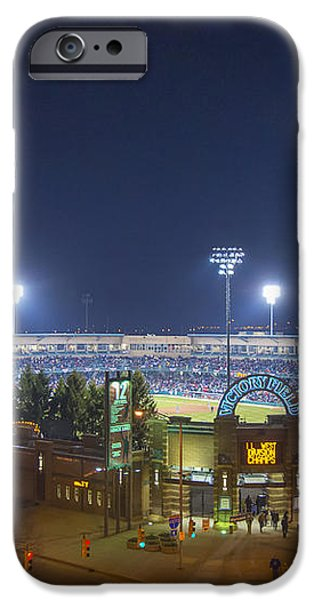 Victory Field 3 iPhone Case by David Haskett