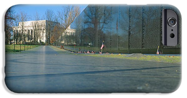United iPhone Cases - Vietnam Veterans Memorial, Washington Dc iPhone Case by Panoramic Images