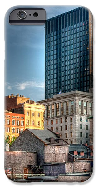 vieux Montreal iPhone Case by Elisabeth Van Eyken