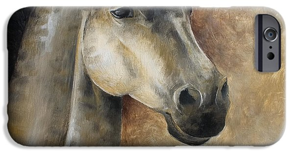 Horse Reliefs iPhone Cases - View Ahead iPhone Case by Abra Johnson