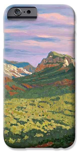 View from Airport Mesa - Sedona iPhone Case by Steve Simon