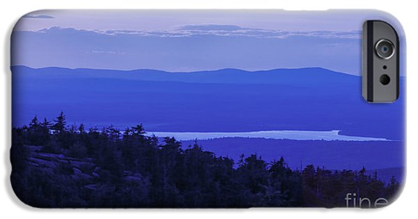 Maine iPhone Cases - View from Cadillac Mountain iPhone Case by Diane Diederich