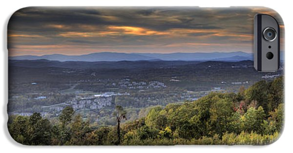 Carter iPhone Cases - View From Carters Mountain iPhone Case by Tim Wilson