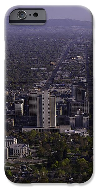 View From Ensign iPhone Case by Chad Dutson