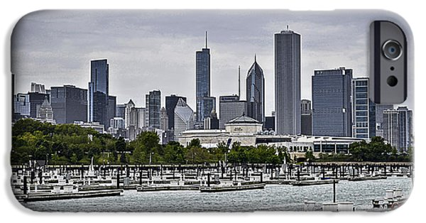 Charters iPhone Cases - View From Northerly Island iPhone Case by Julie Palencia