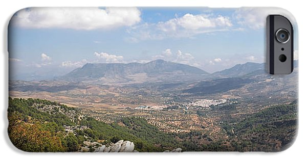 Malaga iPhone Cases - View From Puente Del Viento iPhone Case by Panoramic Images