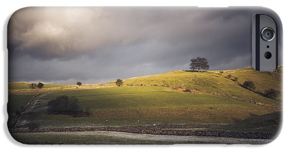 Bucolic iPhone Cases - View from Stanshope iPhone Case by Chris Fletcher