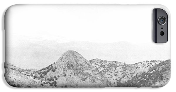 Lodes iPhone Cases - View From Virginia City Nevada iPhone Case by Frank Wilson