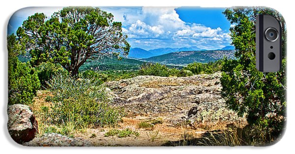 Warner Park iPhone Cases - View from Warner Point Trail in Black Canyon of the Gunnison National Park-Colorado  iPhone Case by Ruth Hager