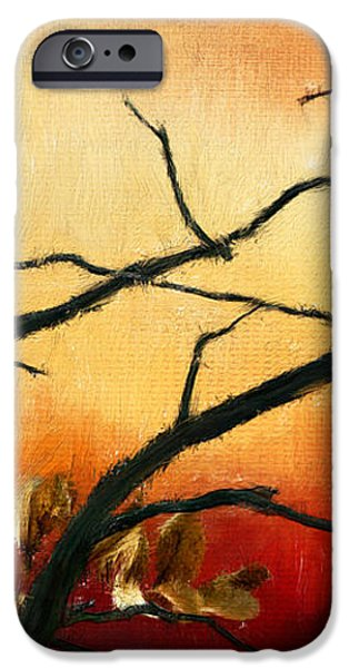 View Of Autumn iPhone Case by Lourry Legarde