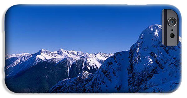 Mountain iPhone Cases - View Of Mount Mackenzie, British iPhone Case by Panoramic Images