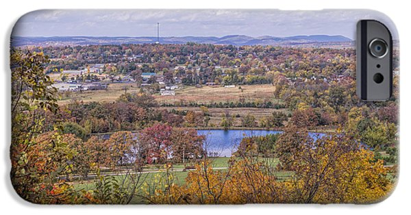 Arkansas iPhone Cases - View of Mountain View Arkansas iPhone Case by Bonnie Barry