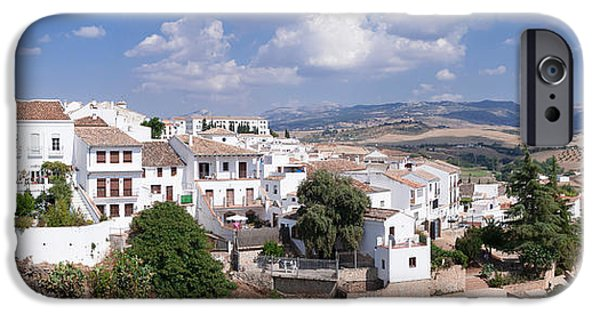 Malaga iPhone Cases - View Of Ronda, Malaga Province iPhone Case by Panoramic Images