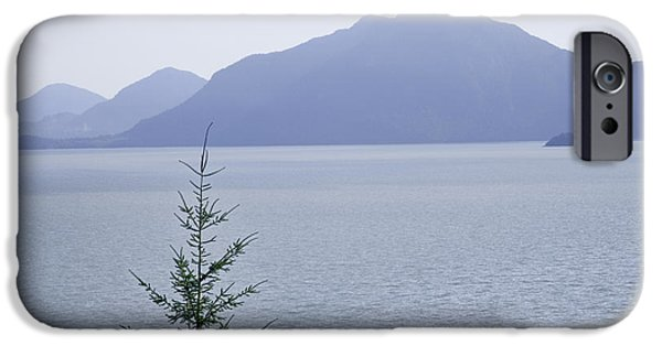 Bc Coast iPhone Cases - View of the Howe Sound in British Columbia iPhone Case by Randall Nyhof