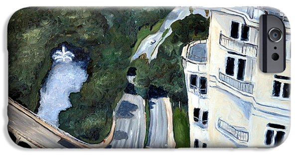 Oak Creek iPhone Cases - View over Turtle Creek iPhone Case by Sandra Mucha