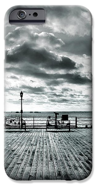 View Point on the Pier iPhone Case by Mark Rogan