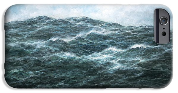 Turbulent Skies iPhone Cases - View iPhone Case by Richard Willis