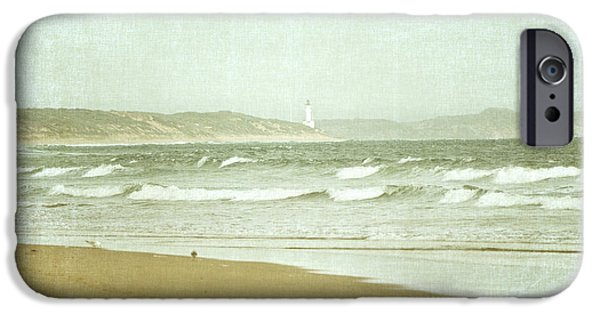 Seagull iPhone Cases - View to Point Lonsdale iPhone Case by Linda Lees