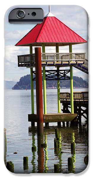 Viewing the Columbia River iPhone Case by Pamela Patch