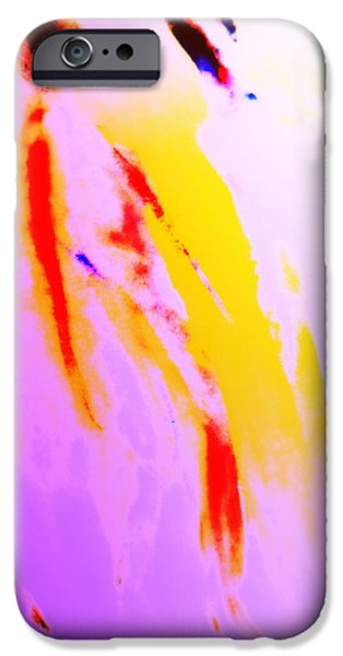 Luminous Body iPhone Cases - Vikings At A Sunday Walk iPhone Case by Hilde Widerberg