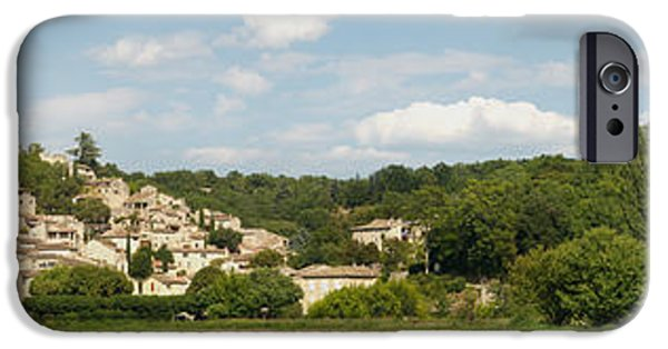 Languedoc iPhone Cases - Village At Hillside, Rochegude iPhone Case by Panoramic Images