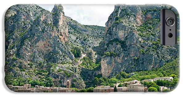 Provence Village iPhone Cases - Village At Mountainside iPhone Case by Panoramic Images