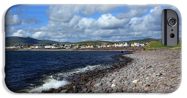 Village By The Sea iPhone Cases - Village By The Sea - County Kerry - Ireland iPhone Case by Aidan Moran