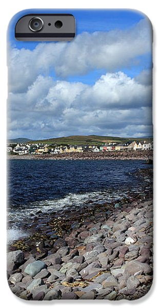 Village By The Sea - County Kerry - Ireland iPhone Case by Aidan Moran
