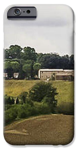 Ville di Corsano near Siena - Tuscany Italy iPhone Case by Karen Stephenson
