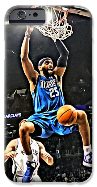 Vince Carter iPhone Cases - Vince Carter iPhone Case by Florian Rodarte