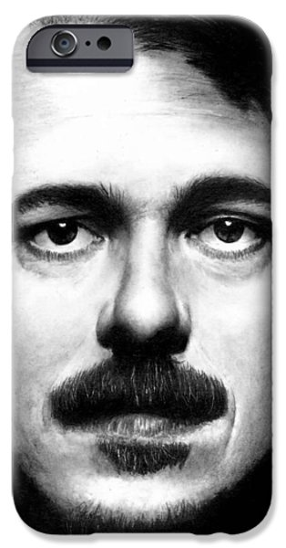 Vince Gilligan BREAKING BAD iPhone Case by Rick Fortson
