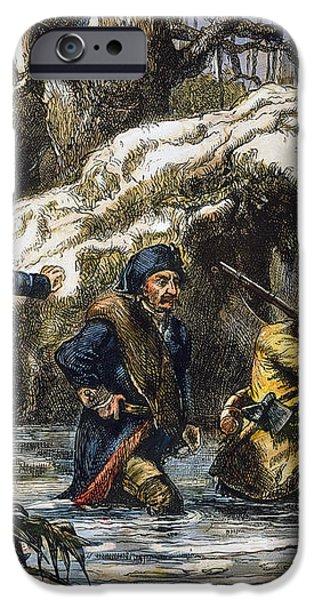VINCENNES: MARCH, 1779 iPhone Case by Granger